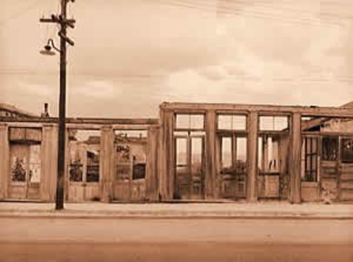 Tombstone Arizona. The Ghosts Of Cowboys Are Seen Often In This Area.