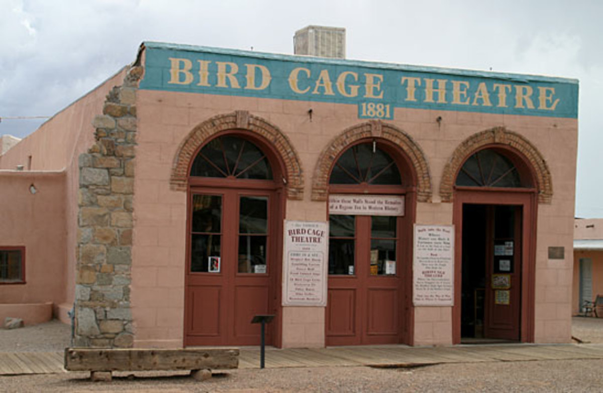 There are many true ghost stories about the Birdcage Theater in Tombstone Arizona