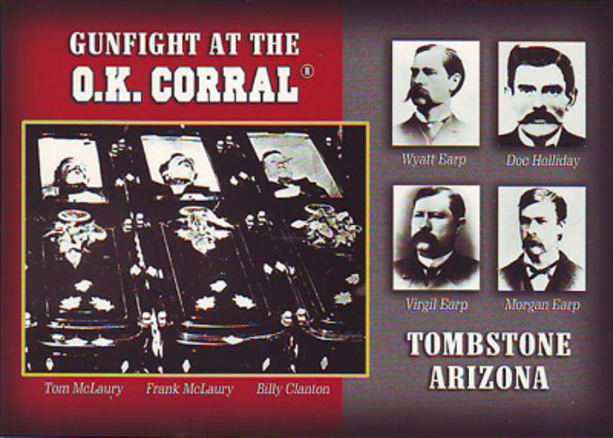 Below are stories about haunted Arizona. One of the most haunted states in the USA.
