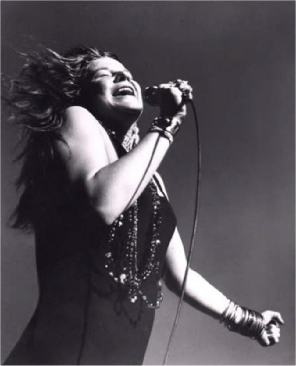 Janis Lyn Joplin (January 19, 1943 – October 4, 1970)