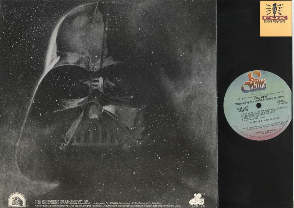Back Album Cover 20th Century Records 2T-541 LP Vinyl Record Soundtrack