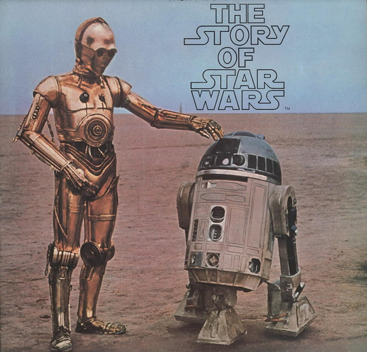 "Star Wars ""The Story of Star Wars"" 20th Century Records T-550 LP 12"" LP Vinyl Record. US Pressing (1977)"