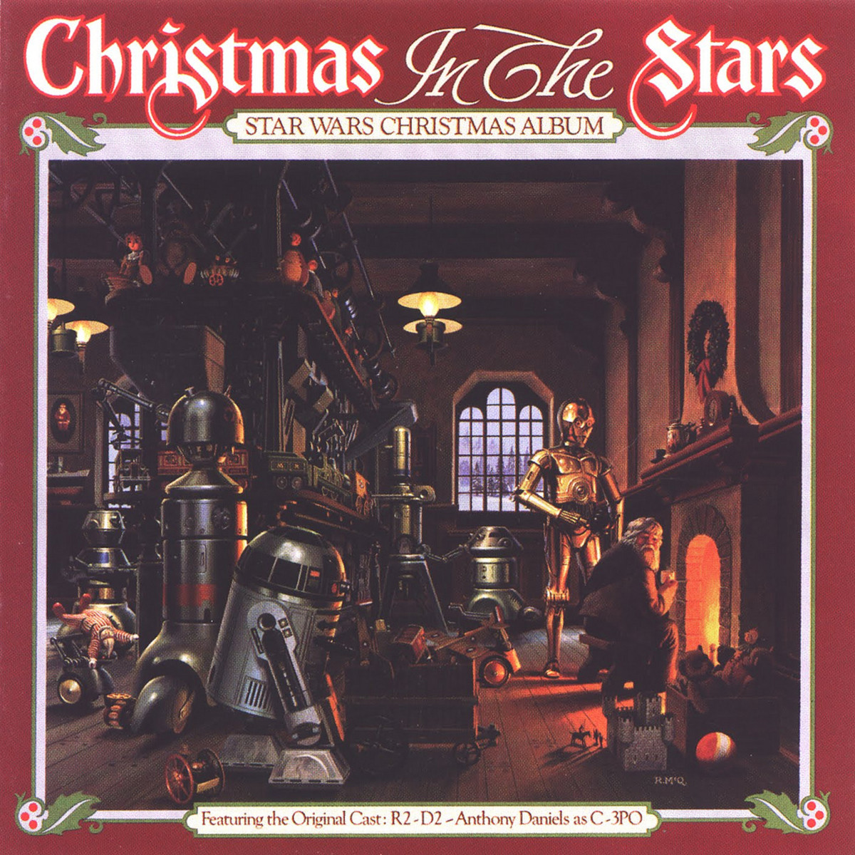 "MECO ""Christmas In The Stars: Star Wars Christmas"" Album RSO Records RS-1-3093 12"" LP Vinyl Record, US Pressing (1980)"