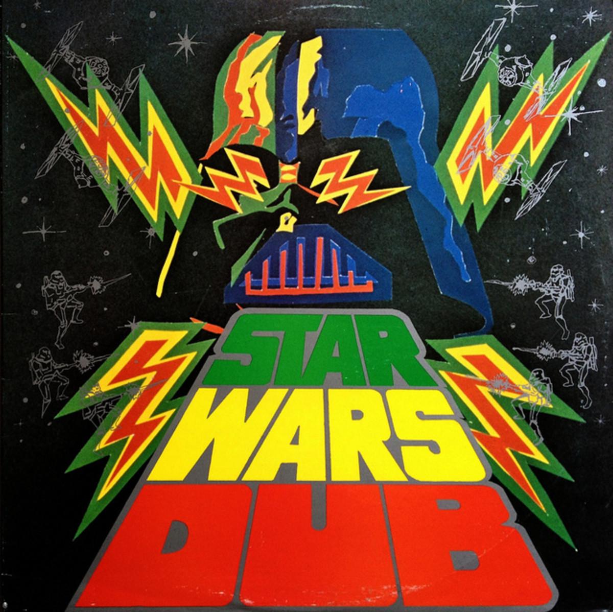 "Phil Pratt & The Sunshot Band  ""Star Wars Dub"" Burning Sounds BS 1019 12"" LP Vinyl Record, UK Pressing (!978) Blue Vinyl"