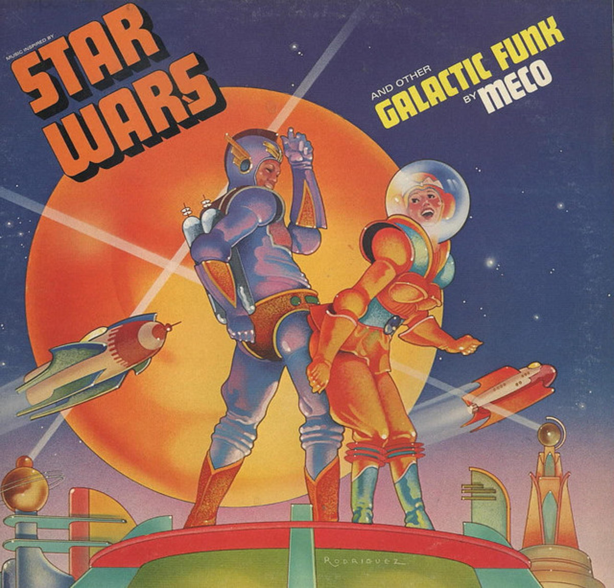 "Meco ""Star Wars and Other Galactic Funk"" Millennium Records MNLP 8001 12"" LP Vinyl Record, US Pressing (1977)"