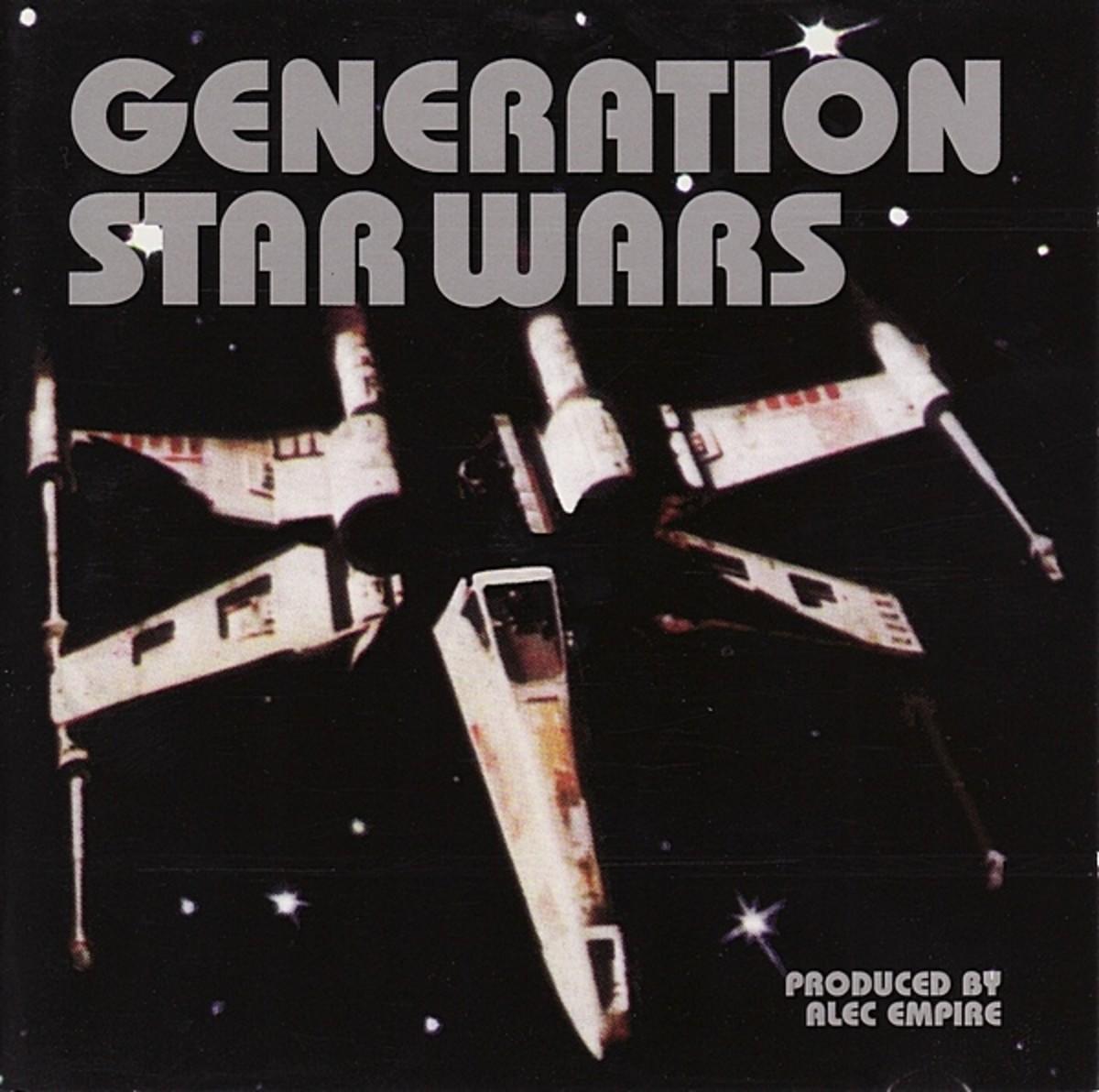 "Alec Empire ""Generation Star Wars"" Mille Plateaux MP 11 212"" LP Vinyl Record Set (1994) German Pressing"