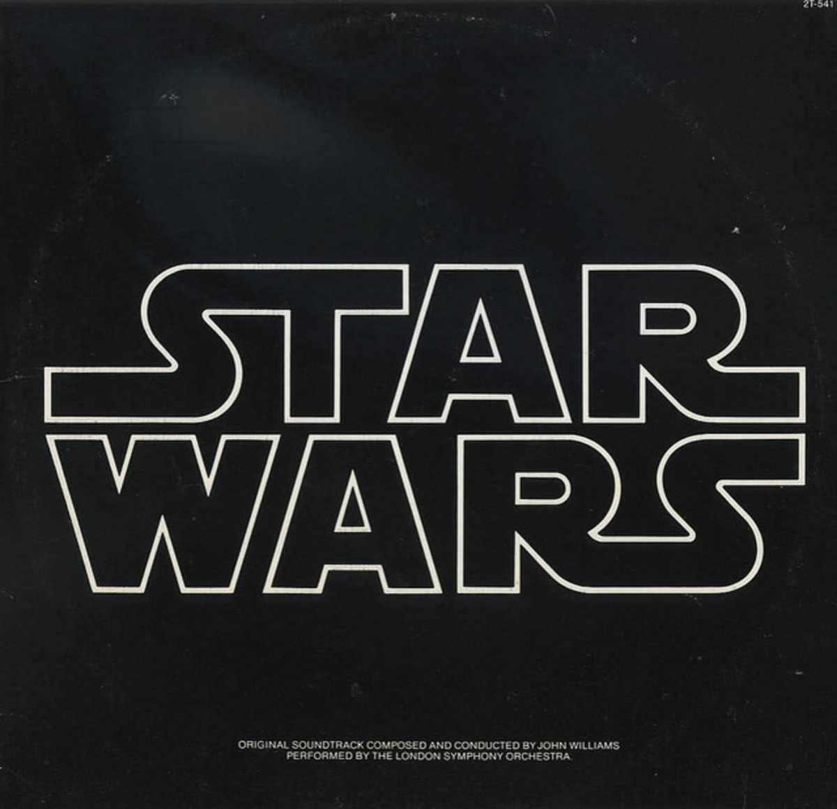 """Star Wars"" 20th Century Records 2T-541 2 12"" LP Vinyl Record Set, US Pressing (1977) John Williams Conducts the London Symphony Orchestra"