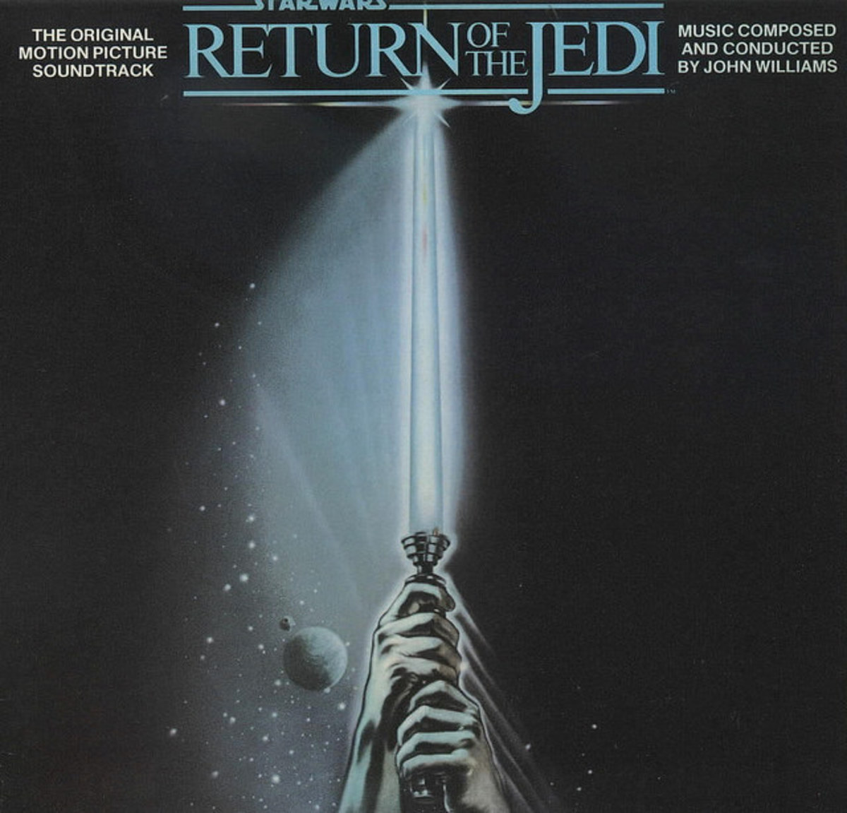"Star Wars ""The Empire Strikes Back ""RSO Records 422-811767-1 12"" LP Vinyl Record, US Pressing (1983) John Williams Conducts the London Symphony Orchestra"