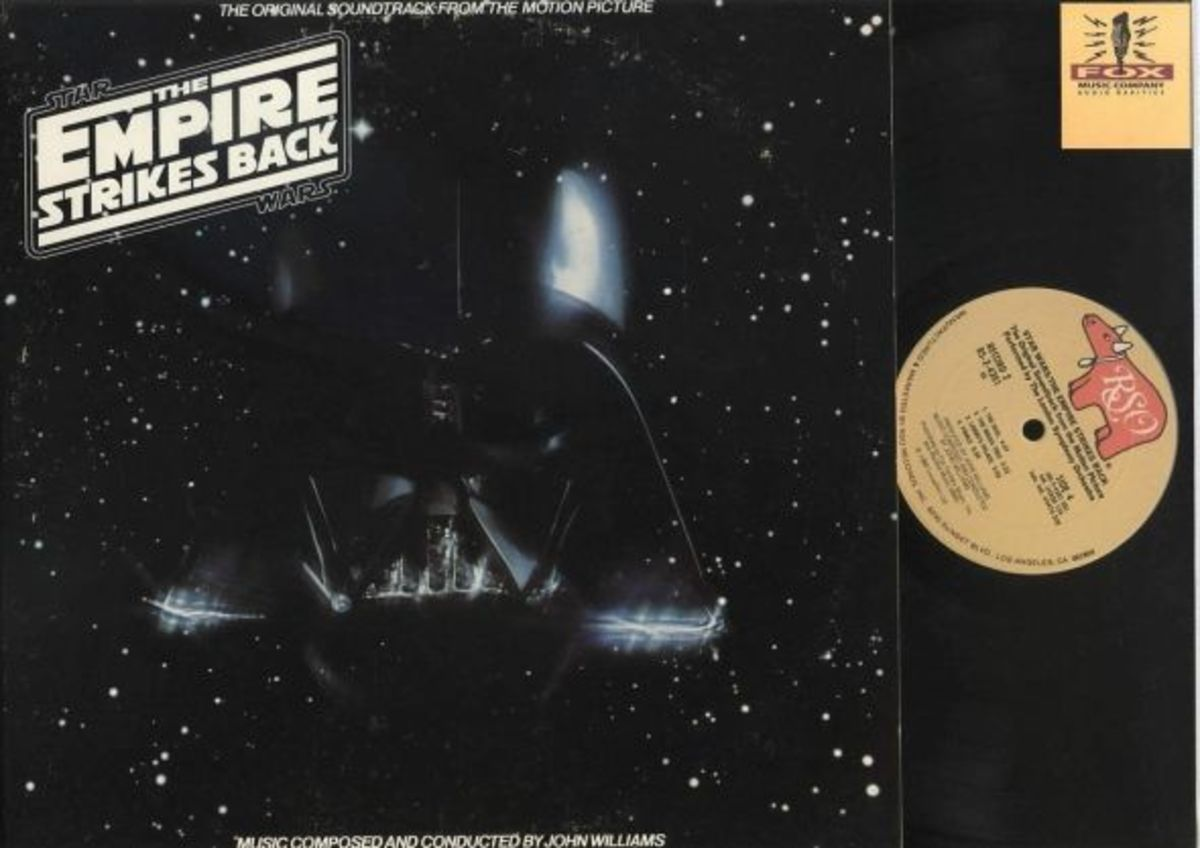 "Star Wars Episode V ""The Empire Strikes Back"" RSO Records RS-2-4201 2 12"" LP Vinyl Record Set, US Pressing (1980)"