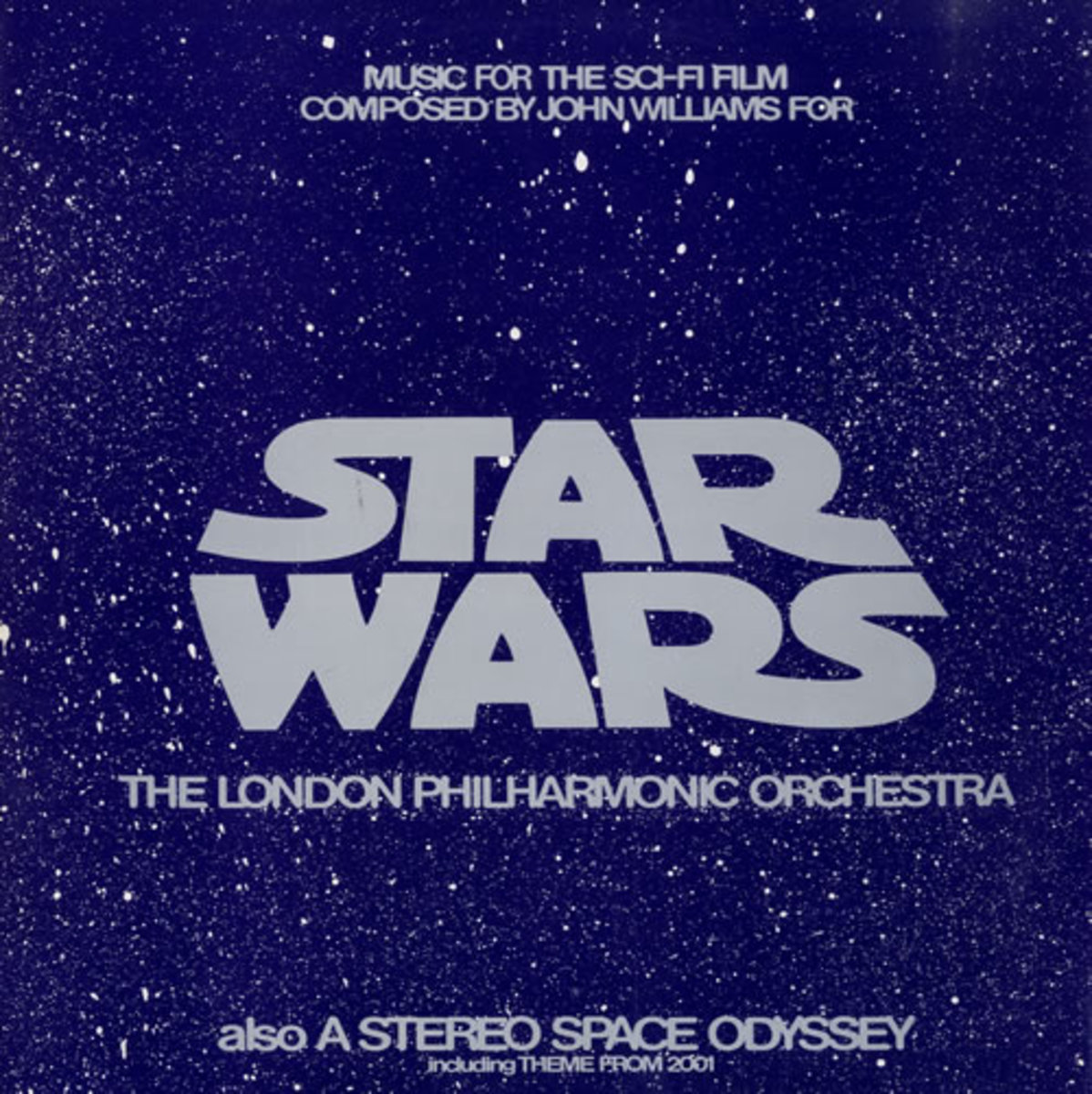 """Star Wars and A Stereo Space Odyssey Stereo Gold Award SGA-1000 12"""" LP Vinyl Record, US Pressing (1977)"""