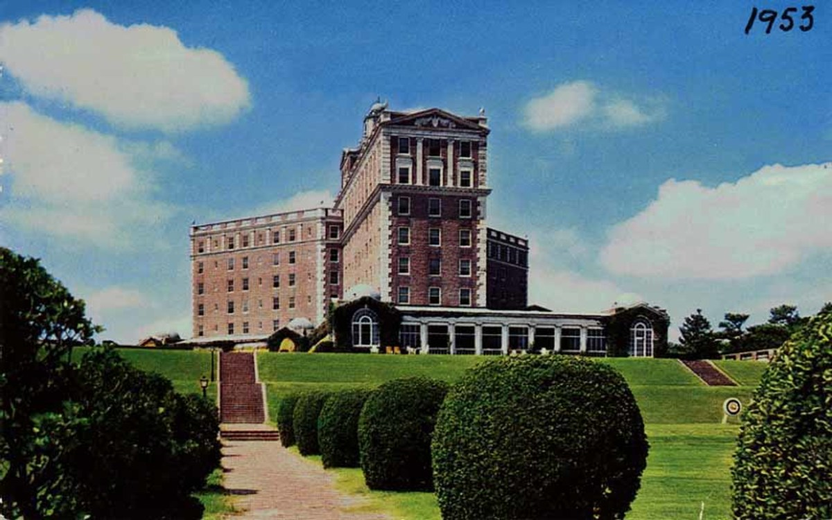 Haunted Cavalier Hotel Virginia Beach Virginia