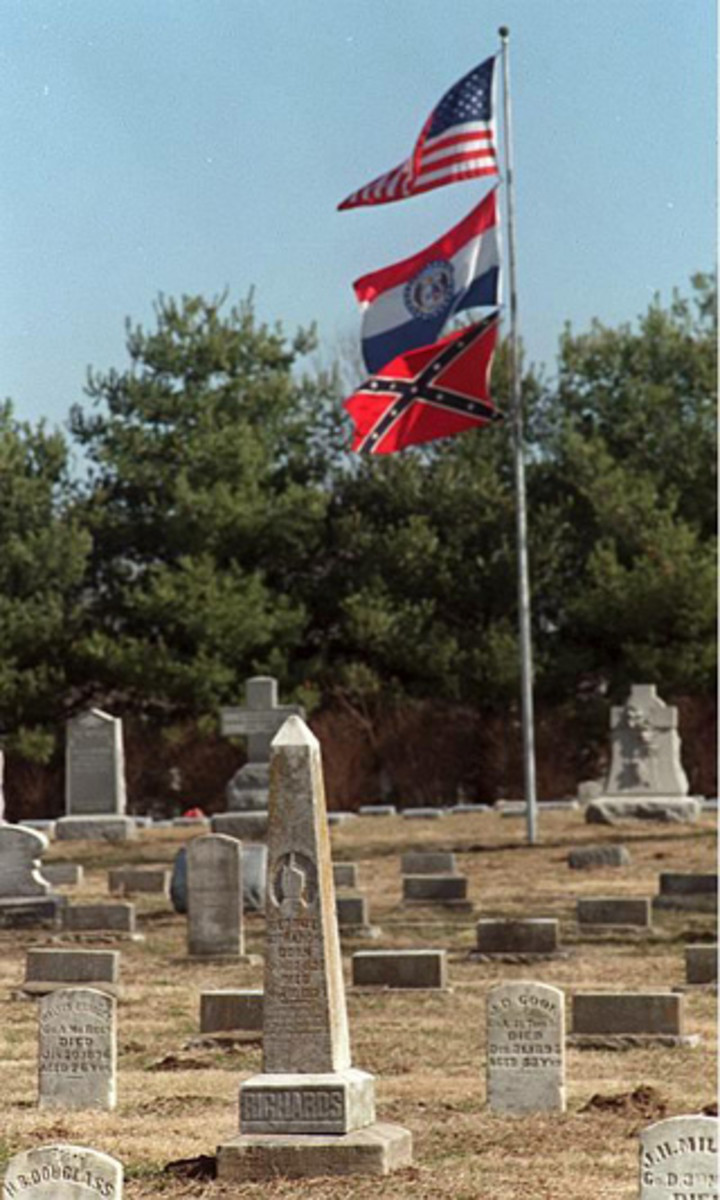Haunted Confederate Graveyard Lebanon Virginia