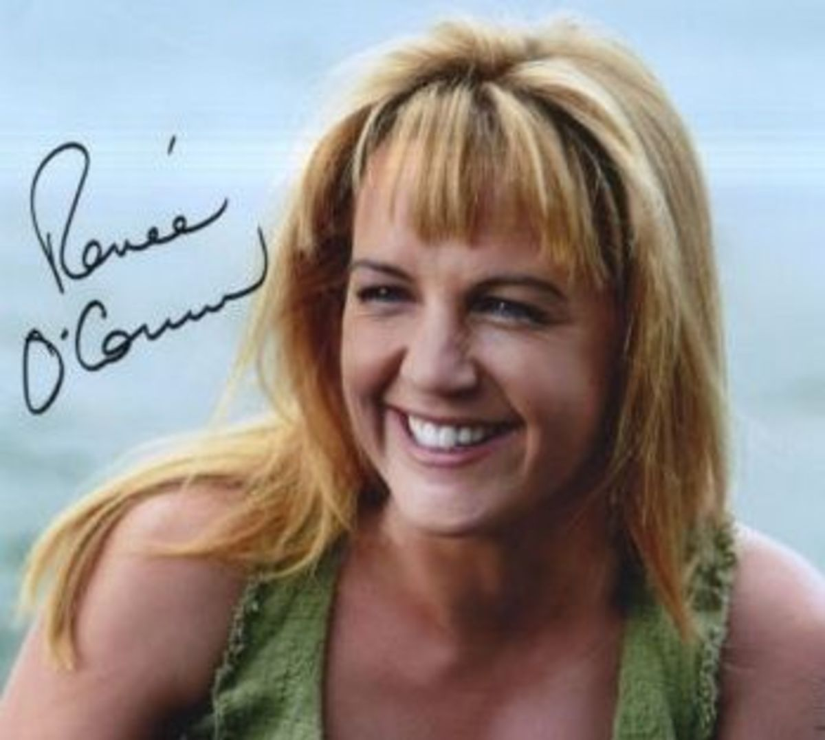 Renee O'Connor Autograph from Personal Collection. Click to buy official photos from Creation