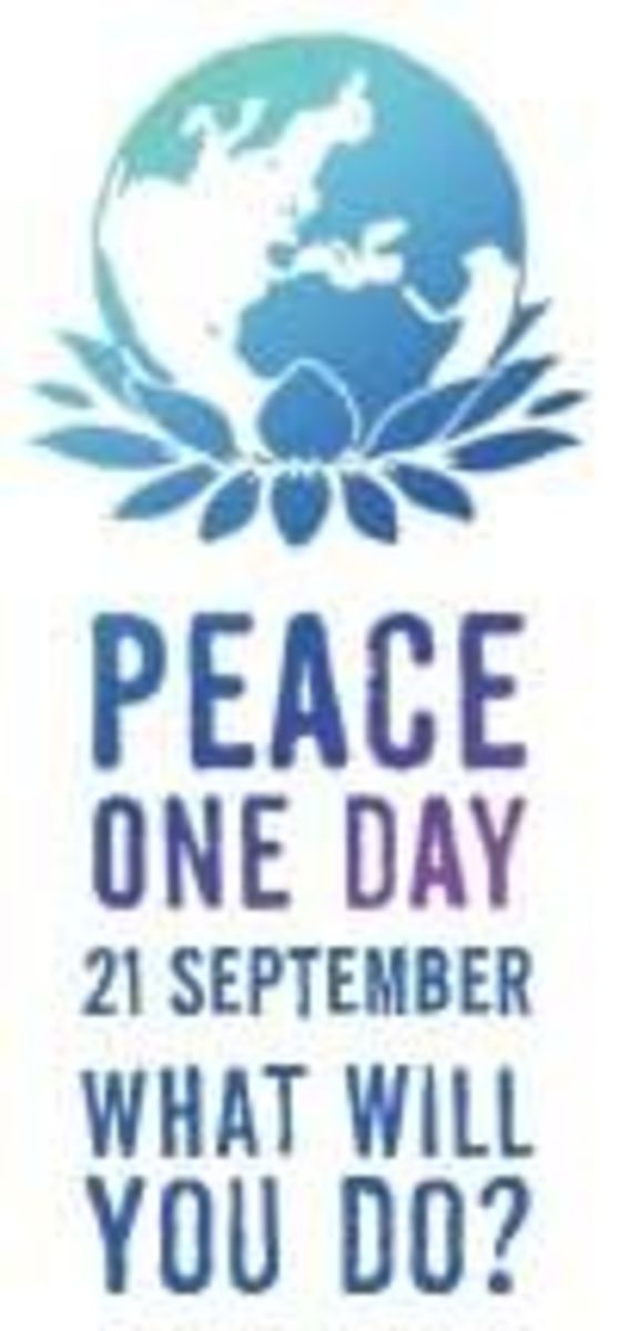 Peace One Day - What Will You Do? September 21