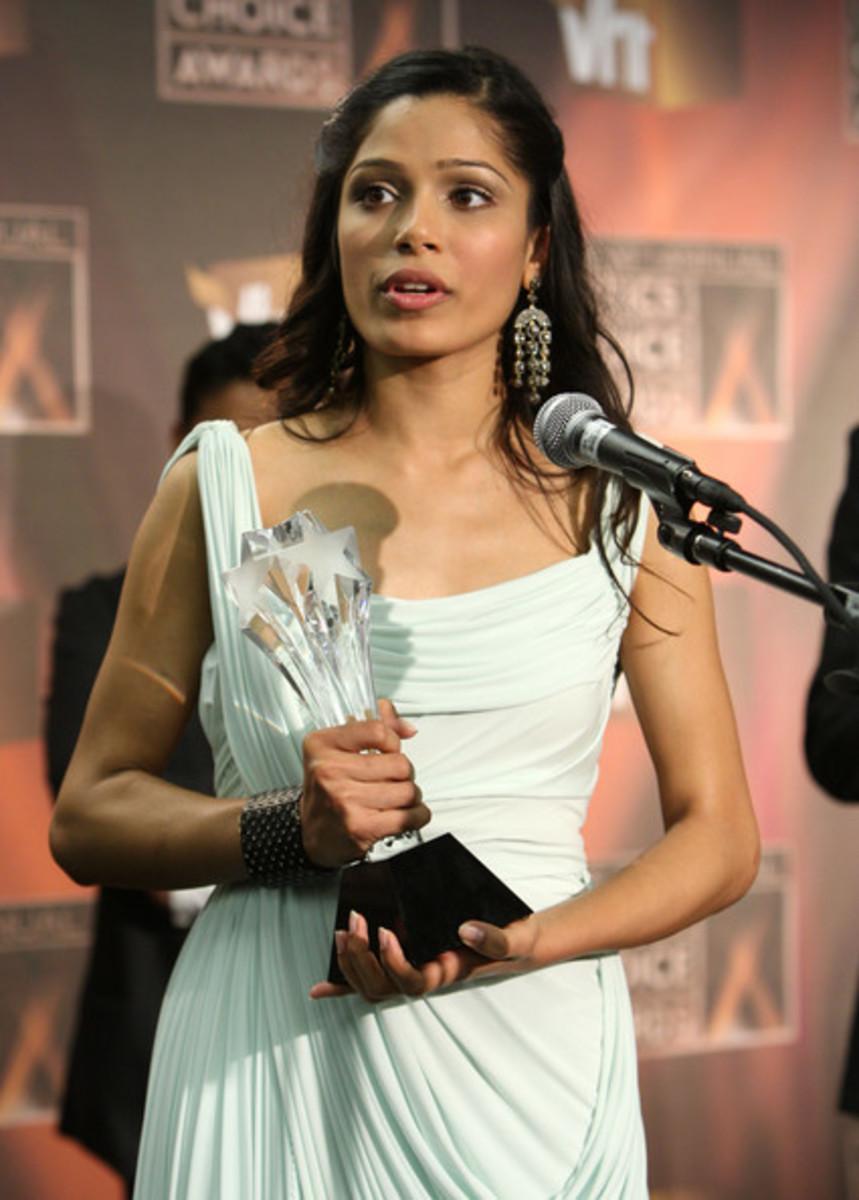 Freida Pinto awarded