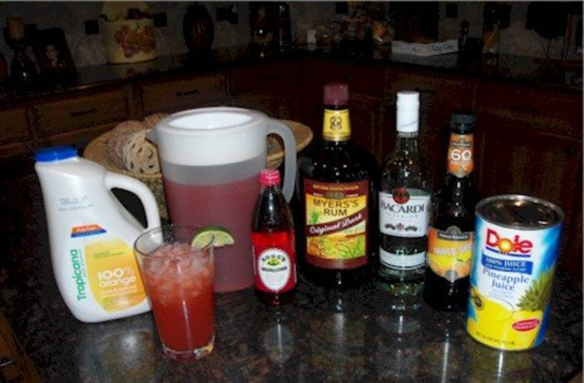 Mai Tai Ingredients