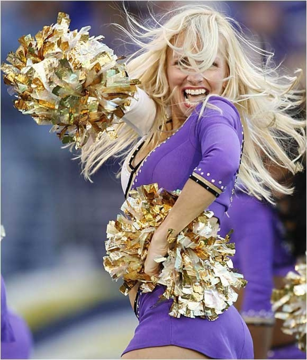 The cheerleader - Raw Energy and Razzamatazz!