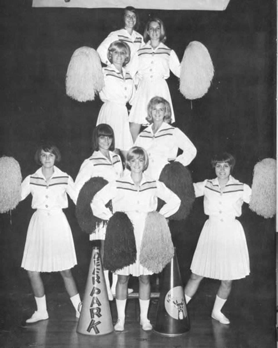 Cheerleaders from 1969