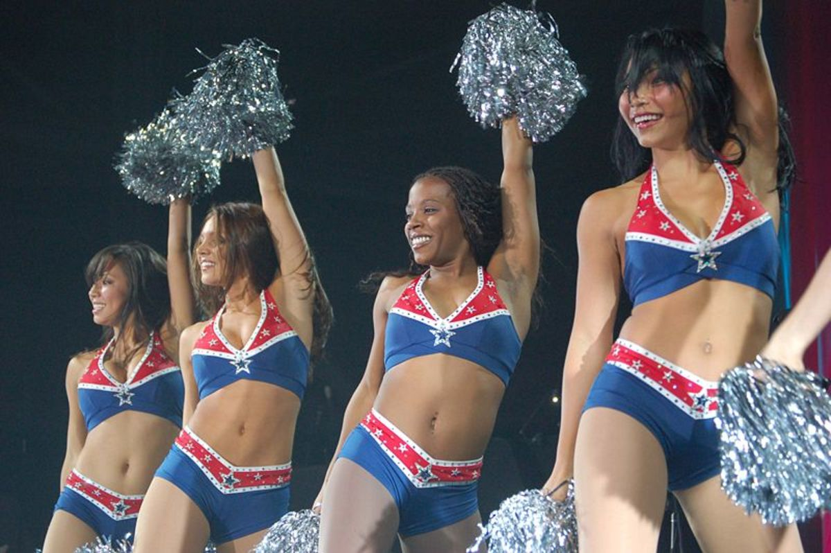 Cheerleaders - New England Patriots