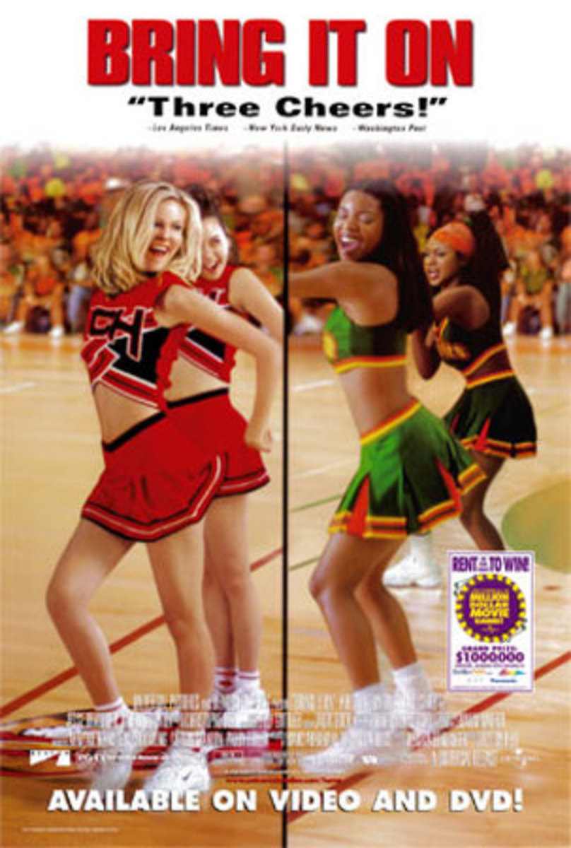 Cheerleading Movie Poster - Bring It On (2000)