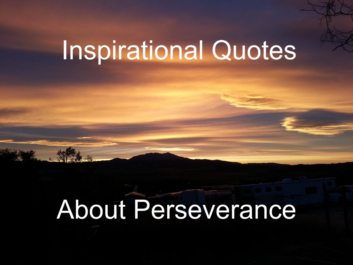 Quotes And Stories About Perseverance:  Inspiration To Keep Going