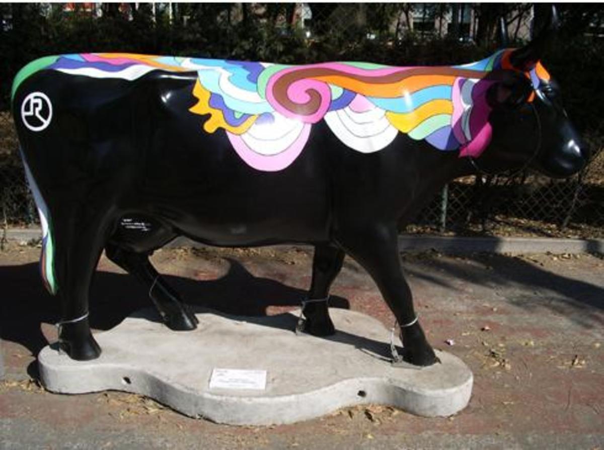 ¡Cuidado con las vacas (Mexico City)