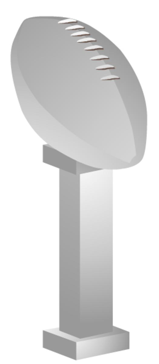 Football trophy clip-art