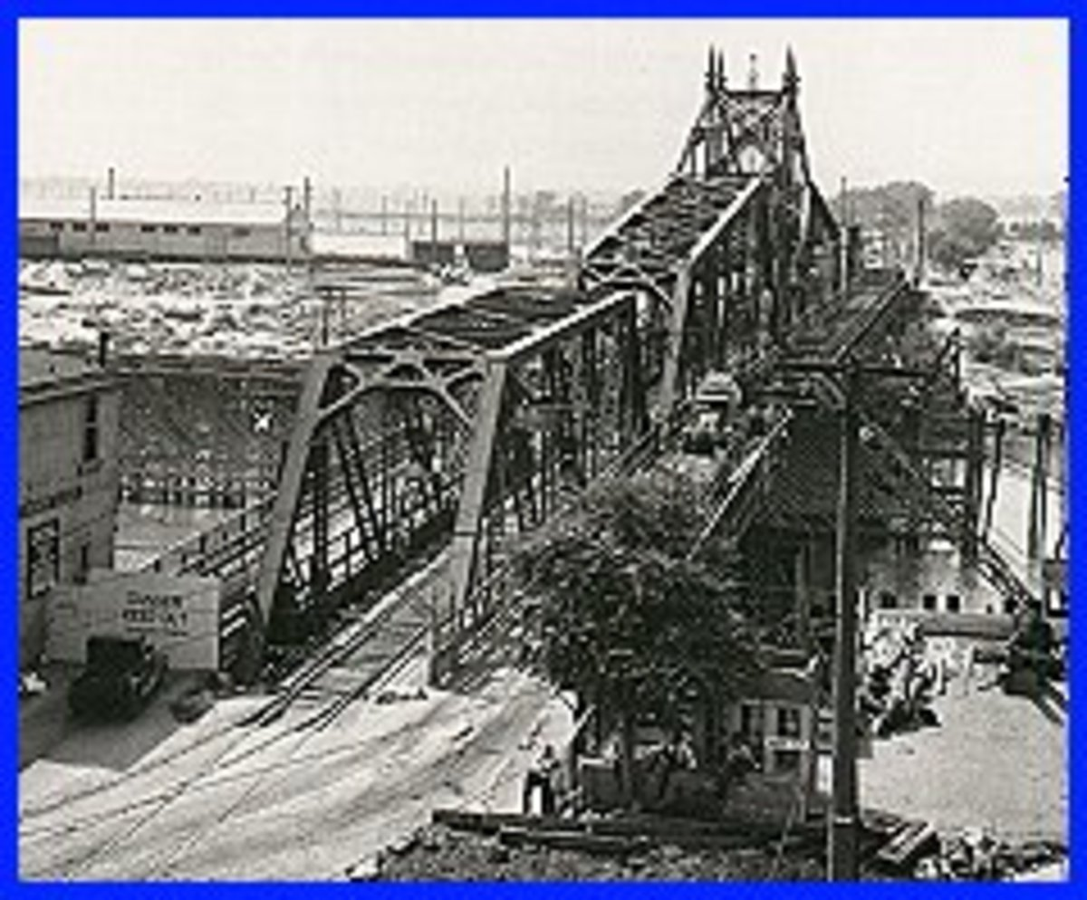 The Old M Street Bridge.