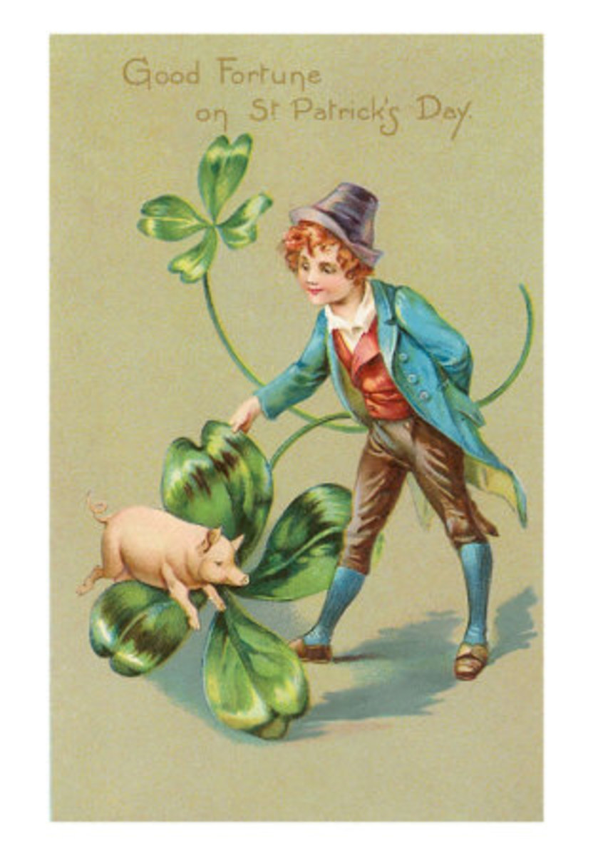 A Leprechaun is known to ride farm animals when they need to make a long journey