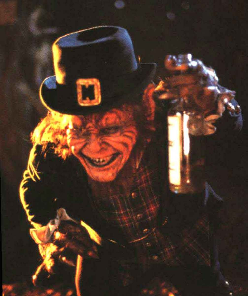The evil Leprechaun from the movie