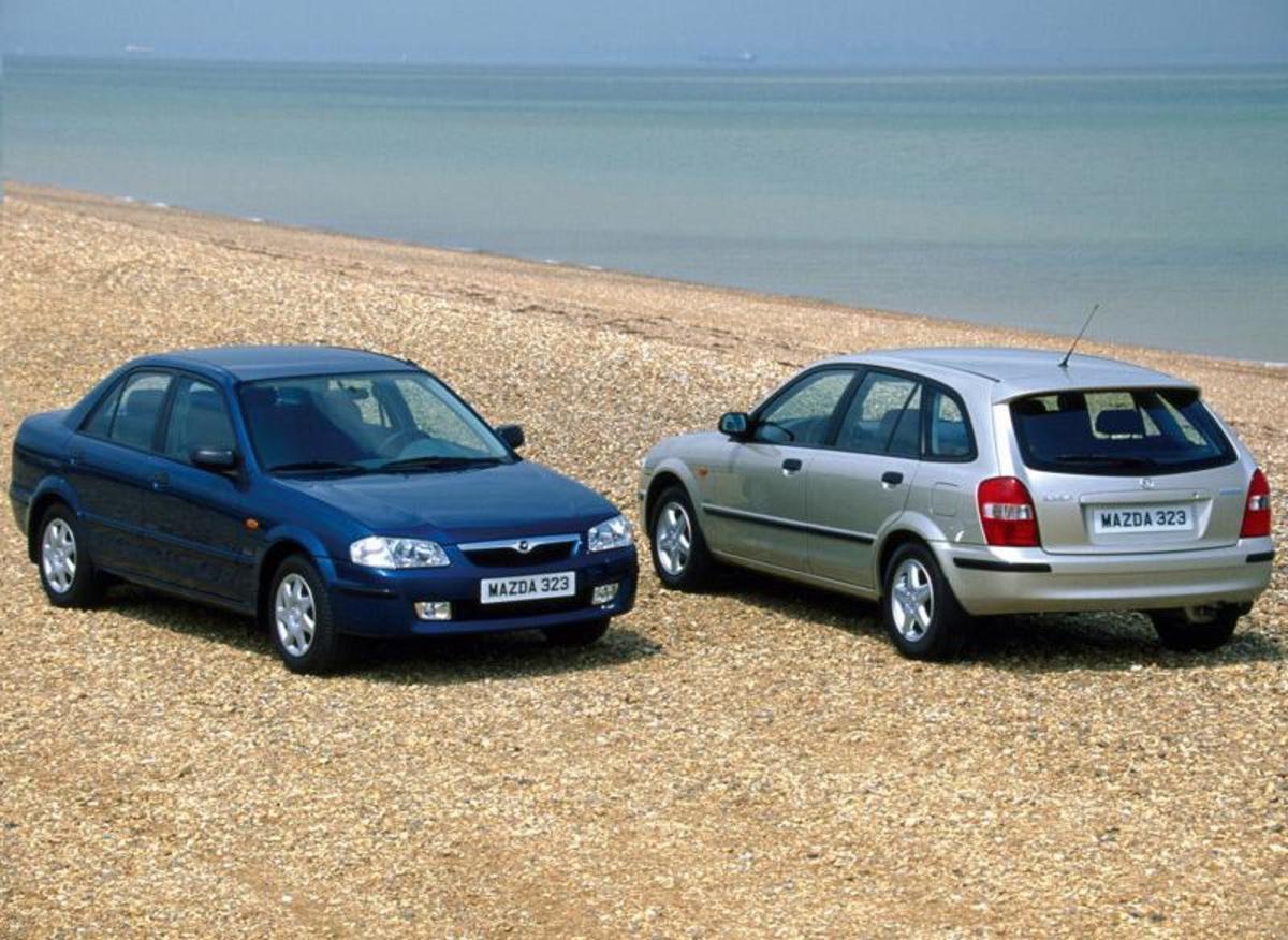 16. Mazda 323: (1963-2003) - 10,480,000