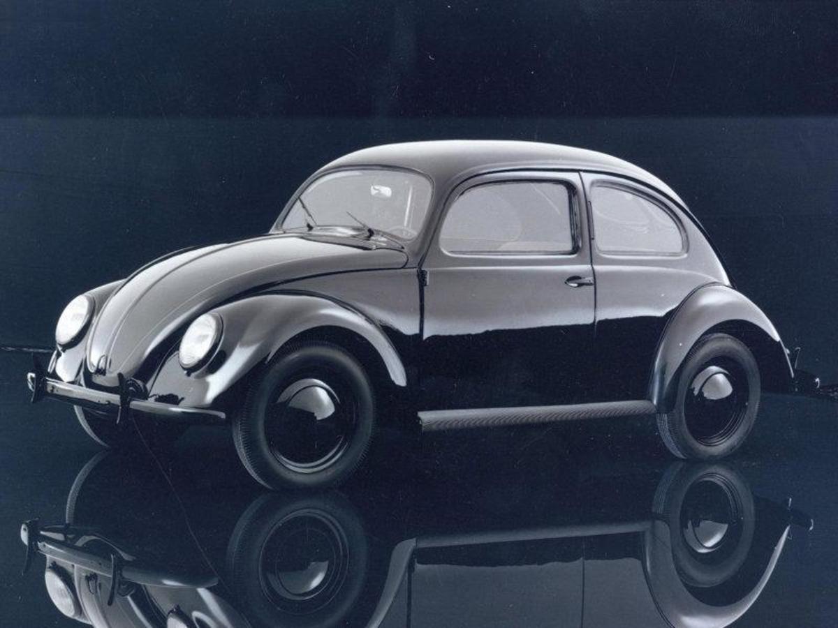 4. Volkswagen Beetle: (1938- ) - 22,300,000+