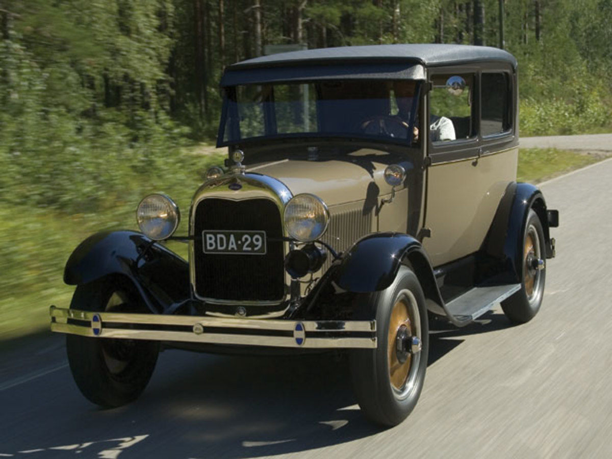 43. Ford Model A: (1927-31) - 4,320,446
