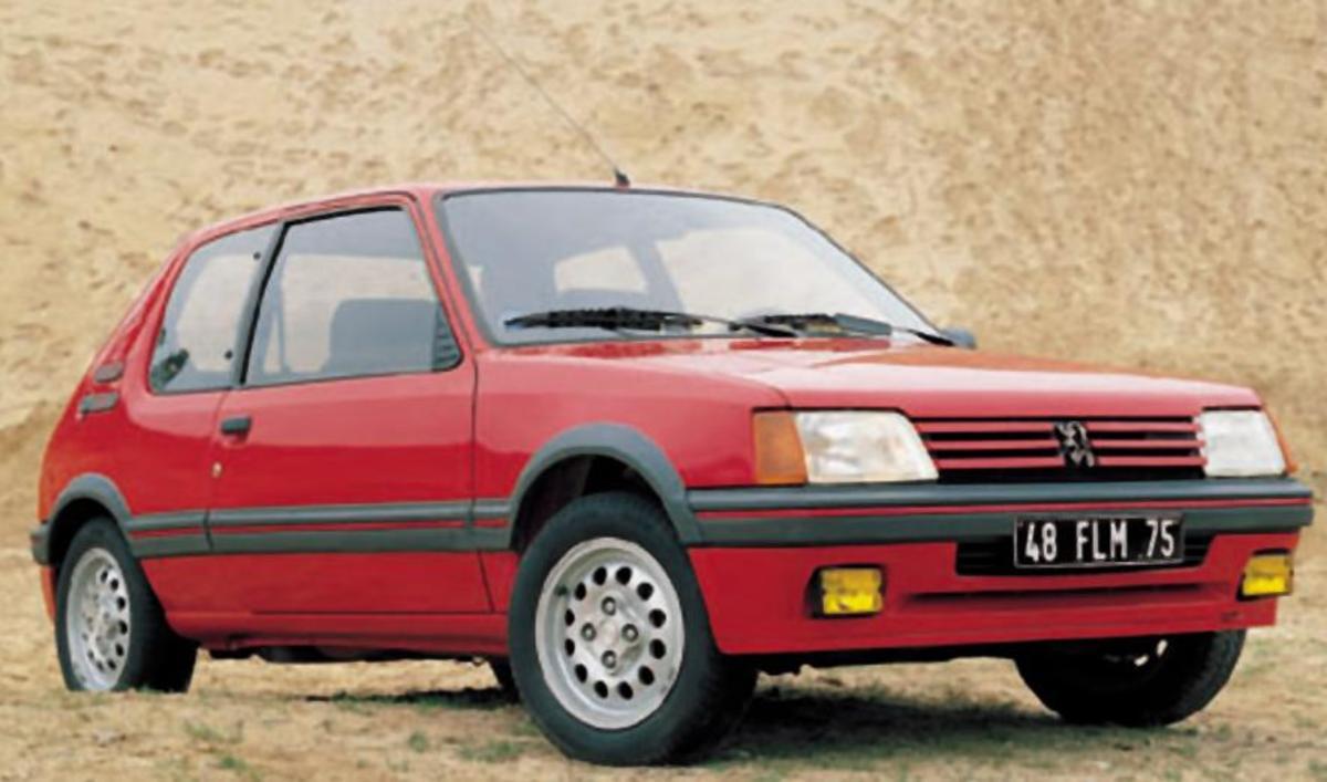 37. Peugeot 205: (1983-1998) - 5,278,000