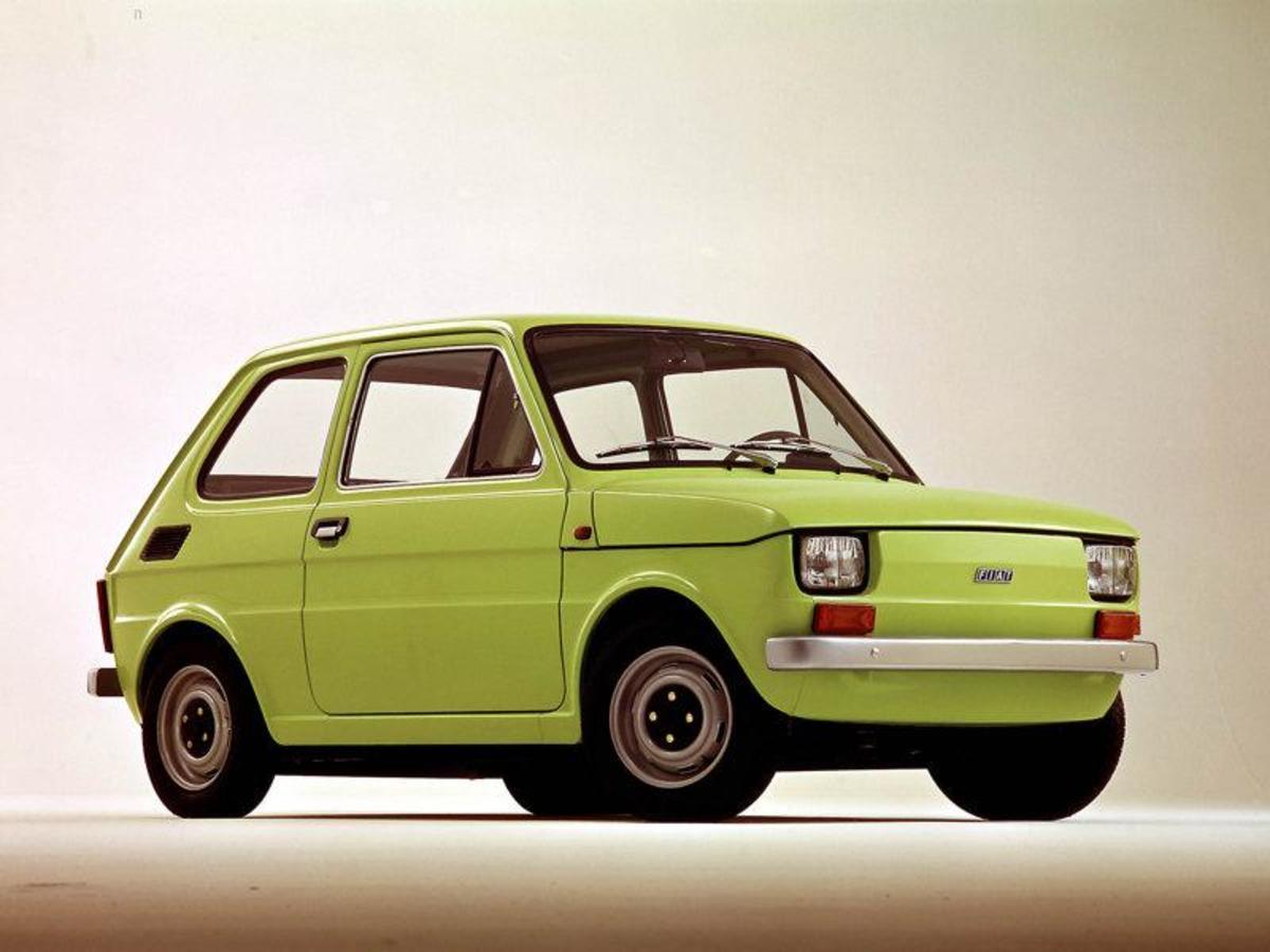 41. Fiat 126: (1973-2000) - 4,671,586