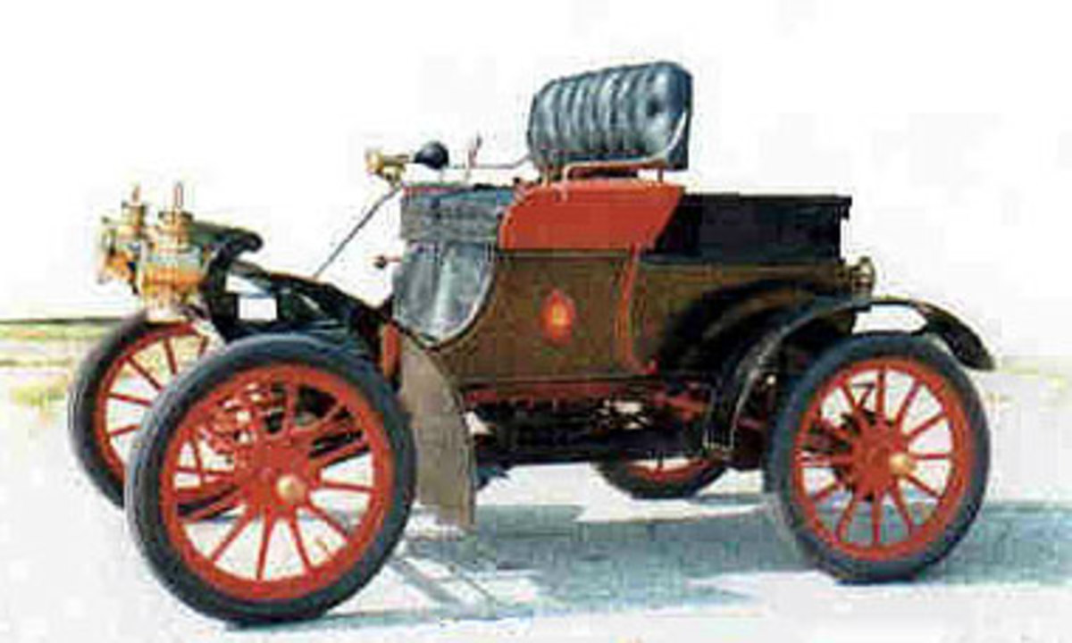1901 Oldsmobile Curved Dash