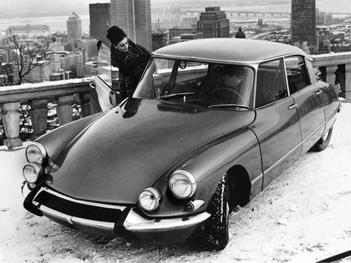 1968 Citroen DS 1st