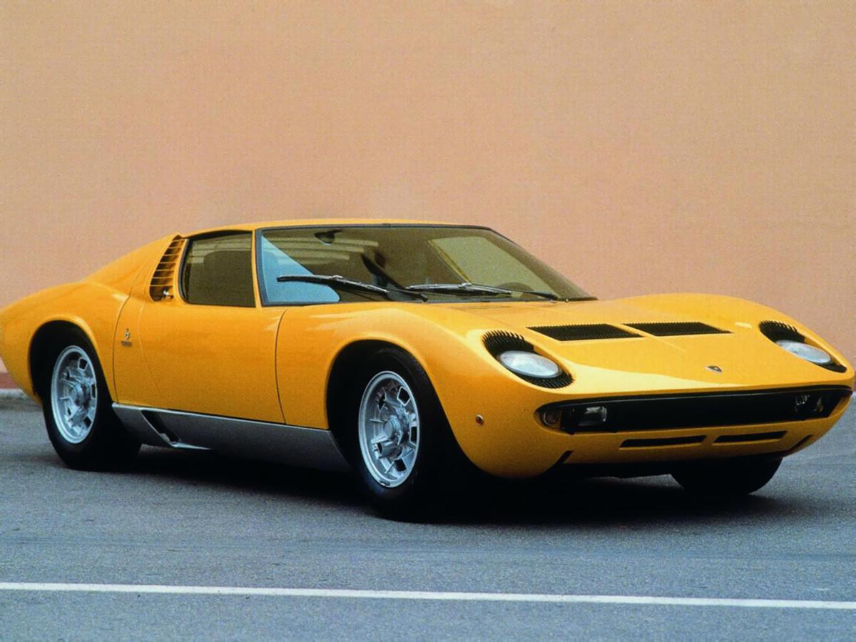 1968 Lamborghini Miura = 4th