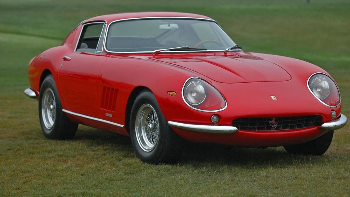 1967 Ferrari 275GTB/4 Berlinetta = 2nd