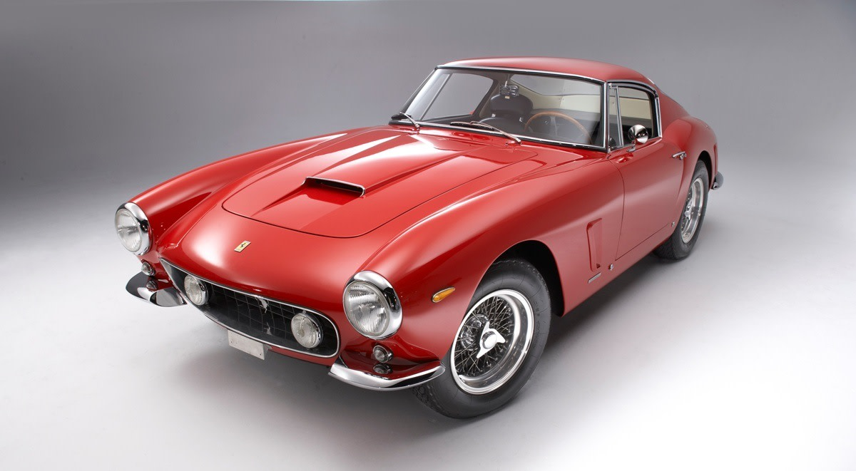 1961 Ferrari 250 GT SWB = 4th