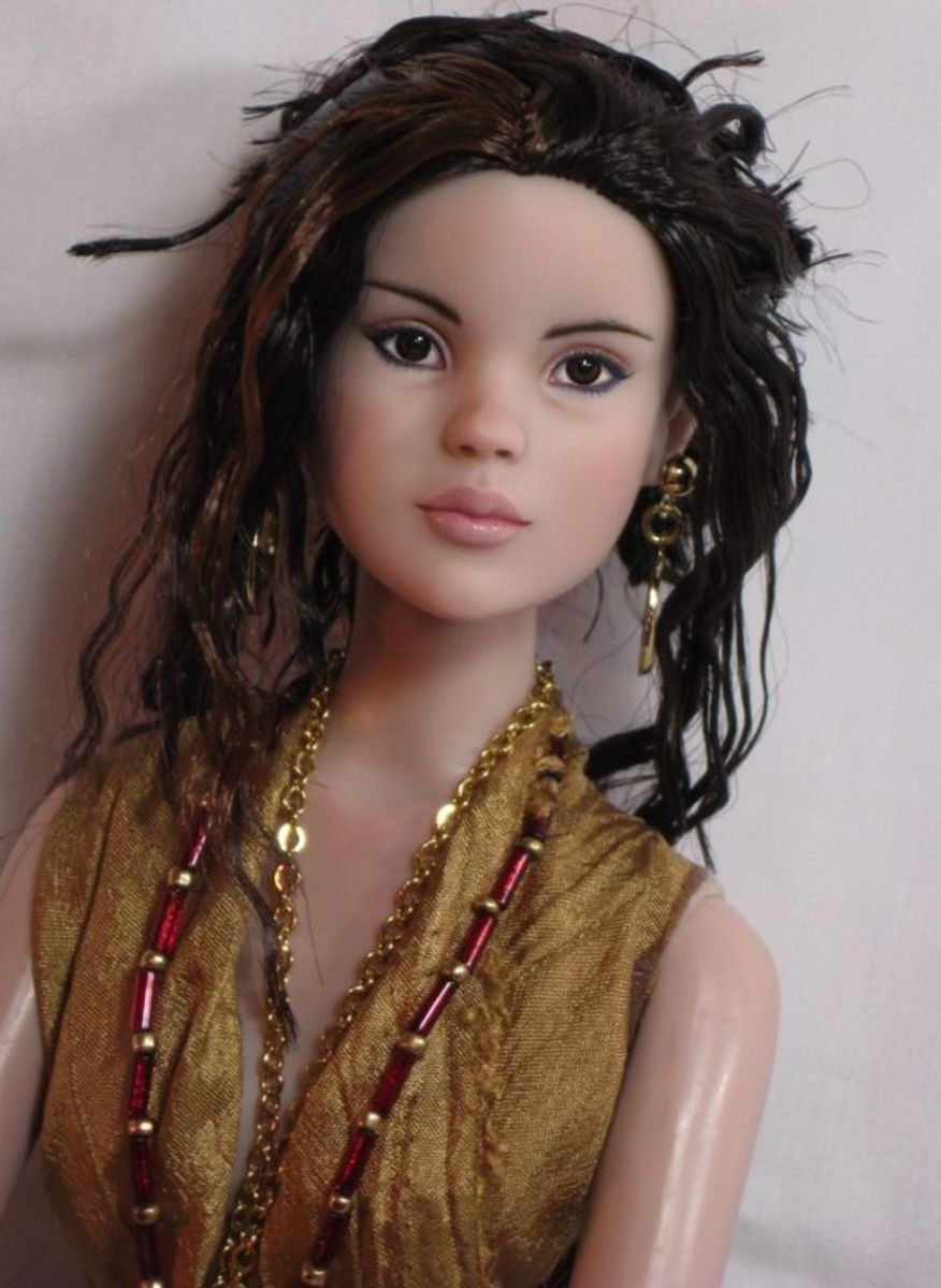 This is a one of a kind doll for fans and friends of Selena Gomez.  Contact me today for more details.