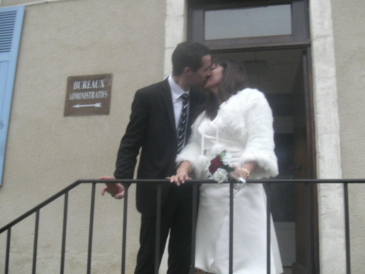 Civil Wedding In France