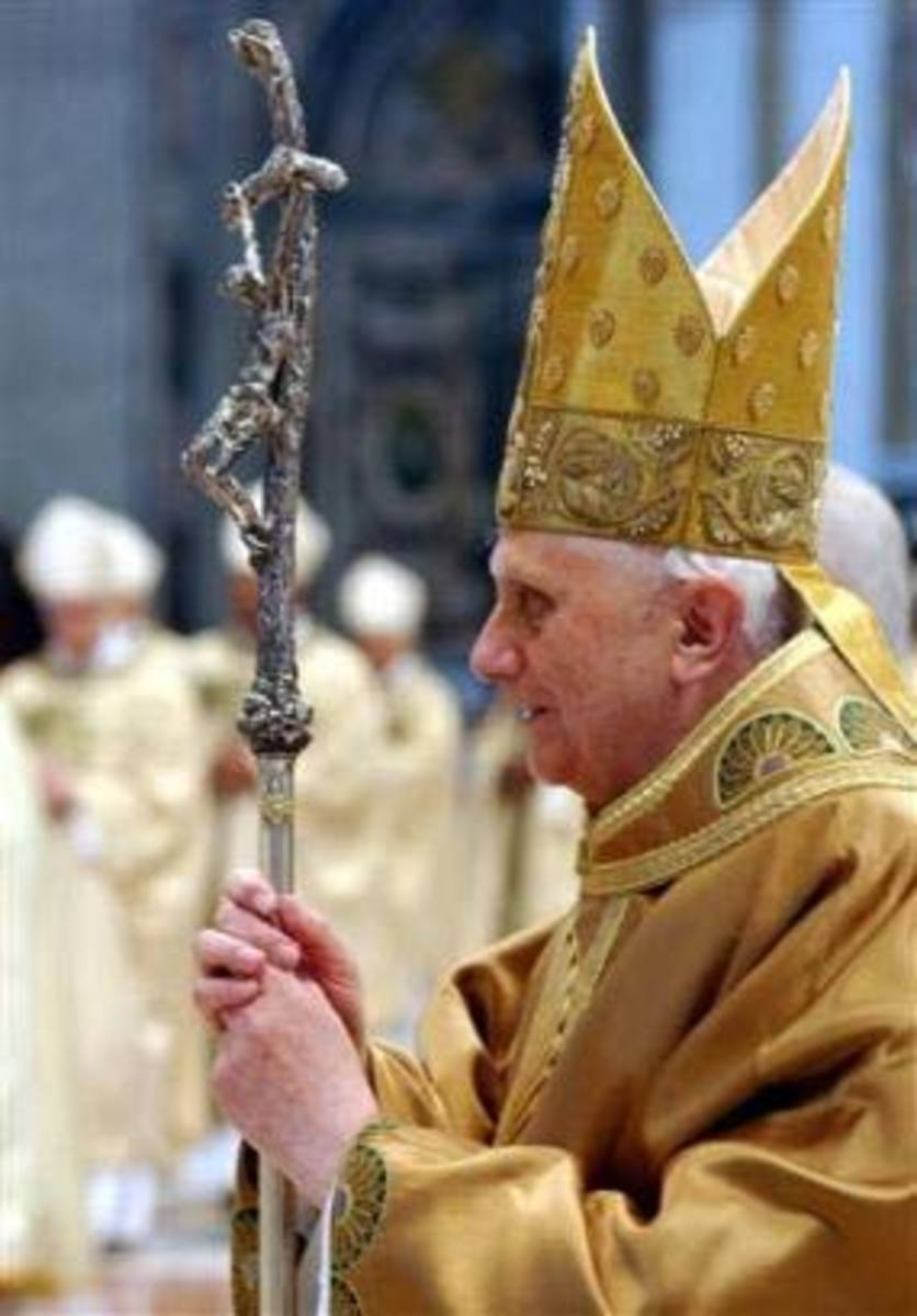 Pope as Dagon