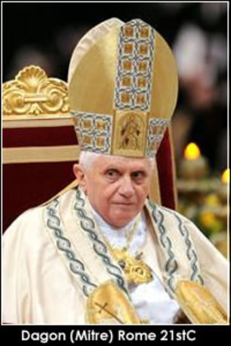 The Pope As Dagon