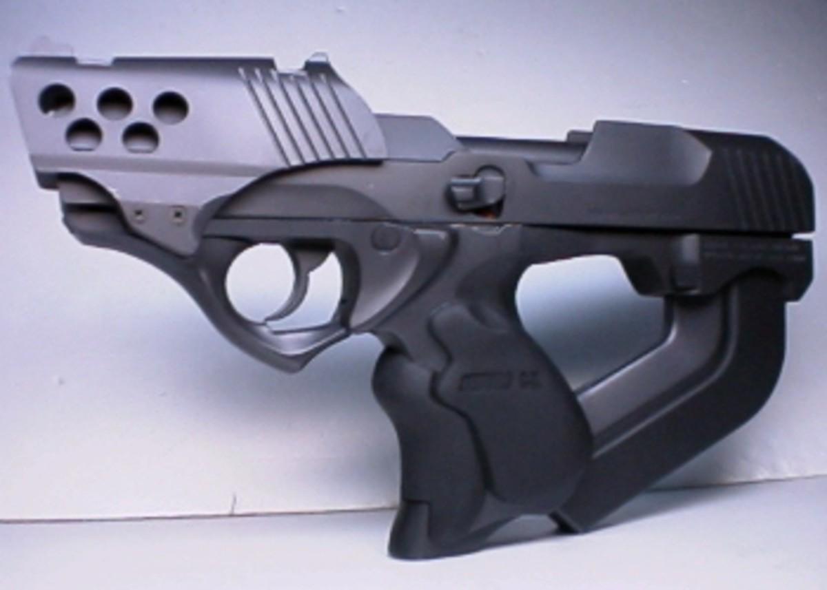 Futuristic Snub Pistol.
