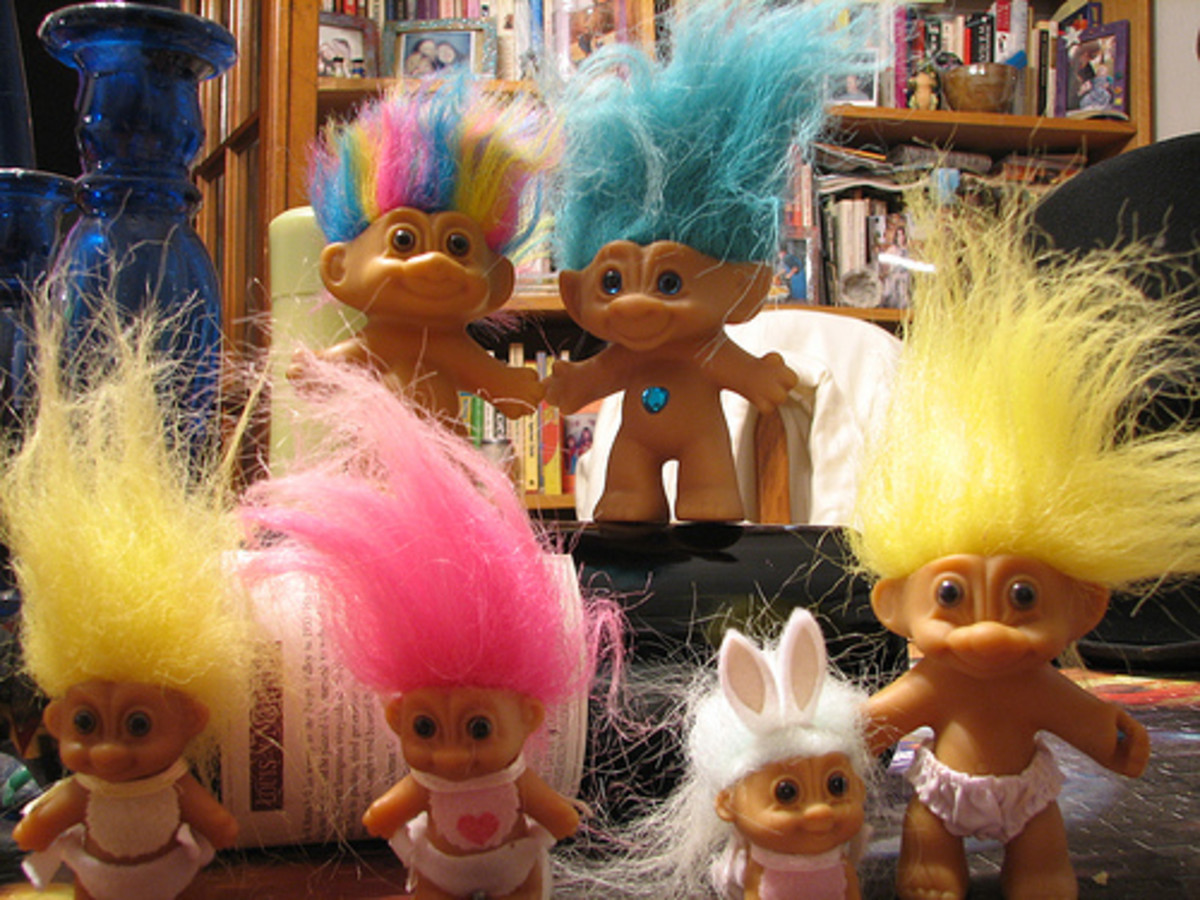 Dammit Dam Things Troll Dolls Hubpages