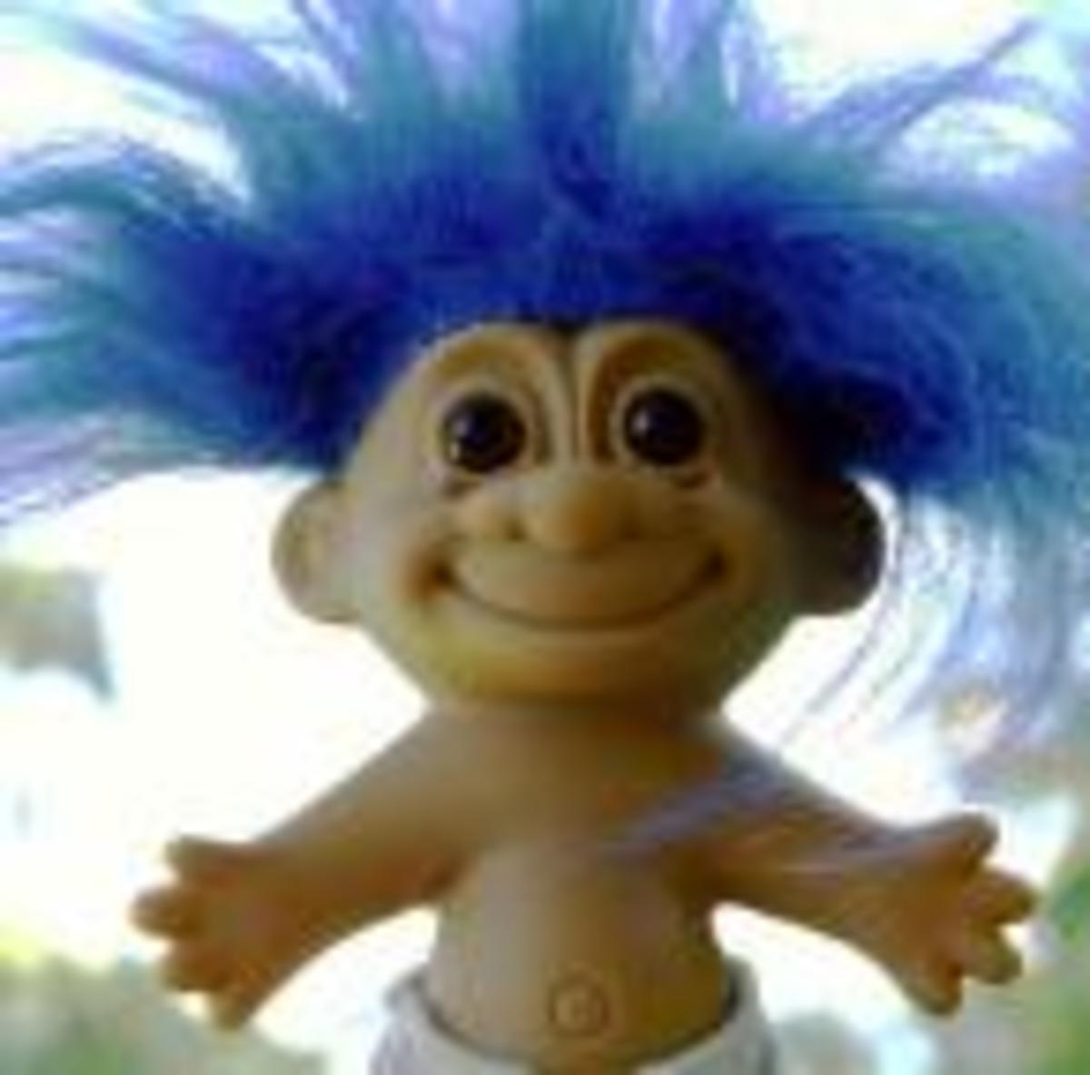 Dammit! Dam Things! Troll Dolls