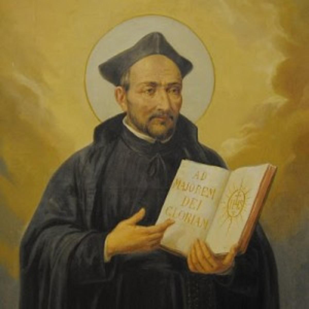 Ignatius Layola founder of the Jesuit Order