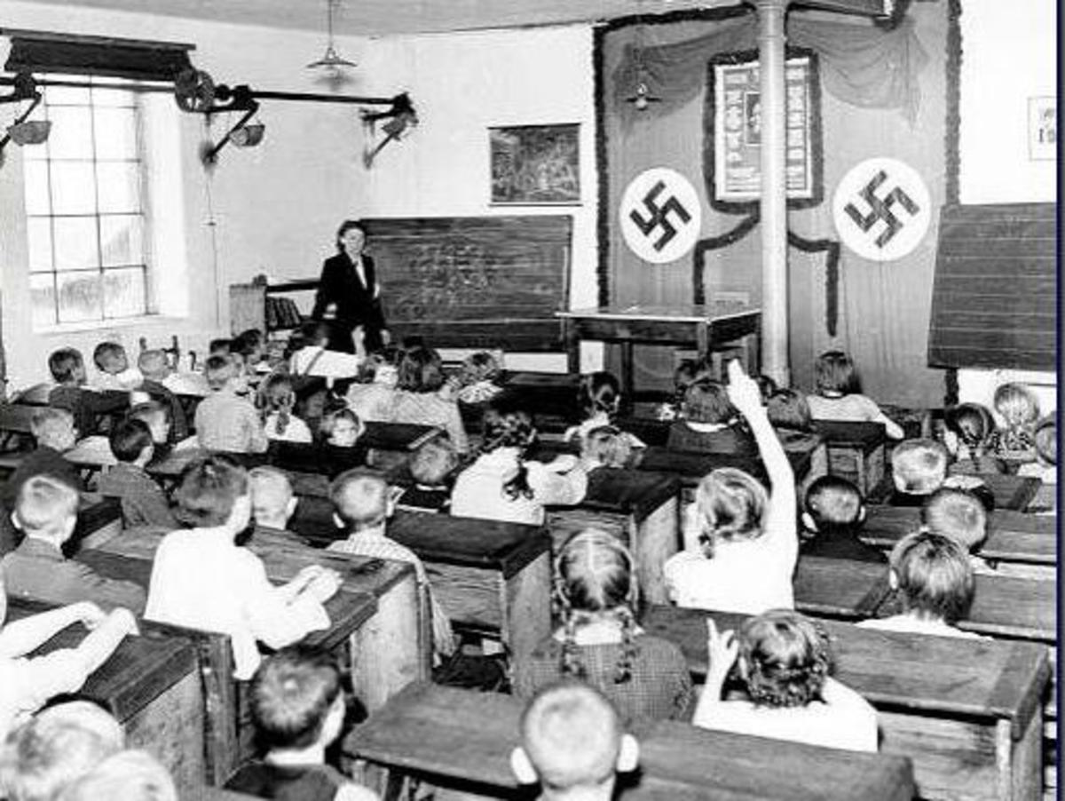 Classroom in Germany