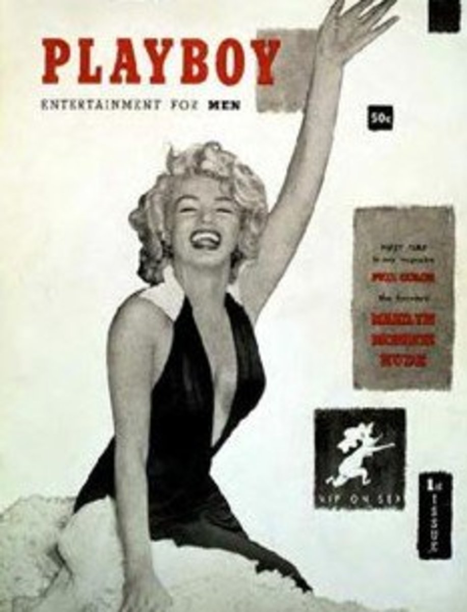 Playboy 1953 Dec issue worth about $6000